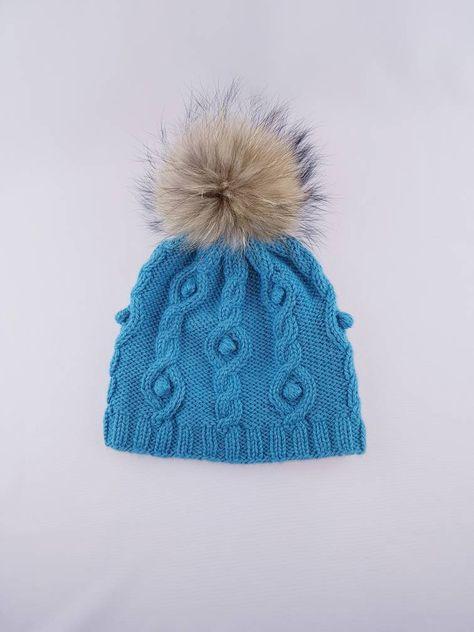 644bace26d6 Winter alpaca hat with pom pom в 2018 г.