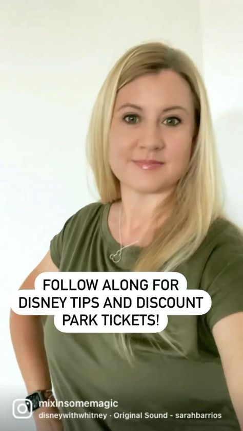 Follow along for Disney vacation tips, discount park tickets and lots of Disney fun!