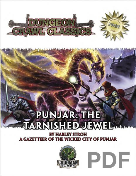 Dungeon Crawl Classics: Punjar: The Tarnished Jewel — PDF