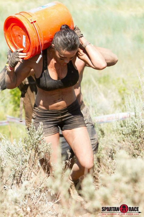 Spartan Race and the growing Spartan family...where the women give birth to Spartan men and are considered equal!
