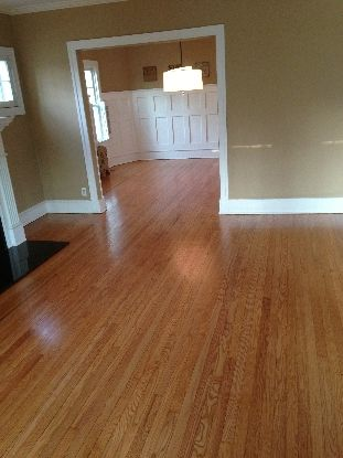 Red Oak with Natural Satin Finish - Kashian Bros. Carpet and Flooring, Wilmette, IL