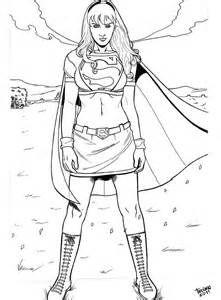 Supergirl Coloring Pages Batman Dibujo Batman Y Dibujos