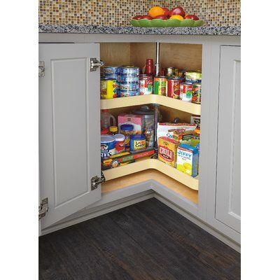 Polymer Kidney 2 Shelf Pull Out Pantry Kitchen Remodel Kitchen Plans Rev A Shelf