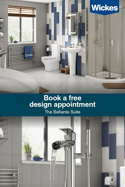 Book Your Free Design Appointment At Wickes Today We Re Here To Help Create Your Dream Space Bathroom Redecorating Bathroom Interior Design Stunning Bathrooms