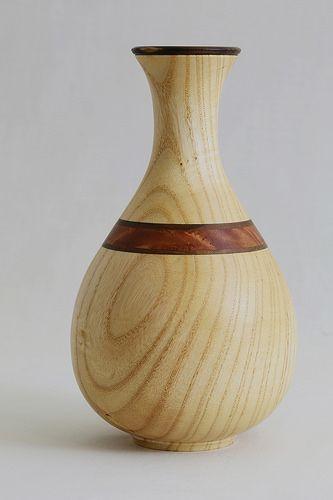 Ash Wood Turning Wood Turning Projects Wood Vase