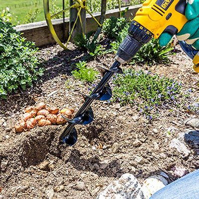 Essential Planting Auger With Images Home Vegetable Garden