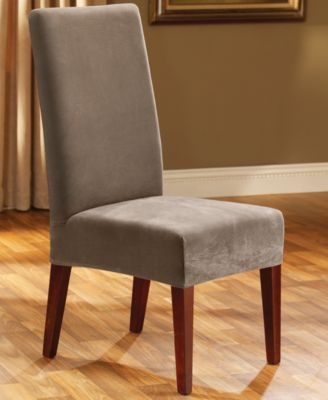 Sure Fit Stretch Pique Short Dining Room Chair Slipcover Reviews