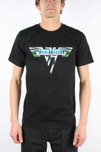 4ebc495e Back by popular demand, this shirt features the original logo that  introduced the world to the super rock group Van Halen. With David Lee Roth  as the ...