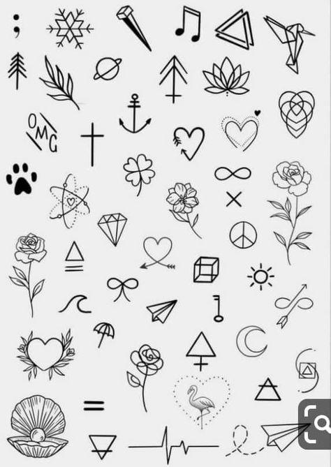 Minimalist tattoo designs - #designs #minimalist #tattoo