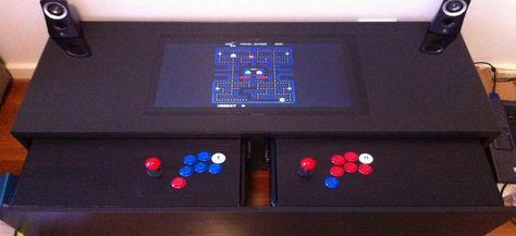 Diy Transformer Une Table Basse Ikea En Borne D Arcade Table