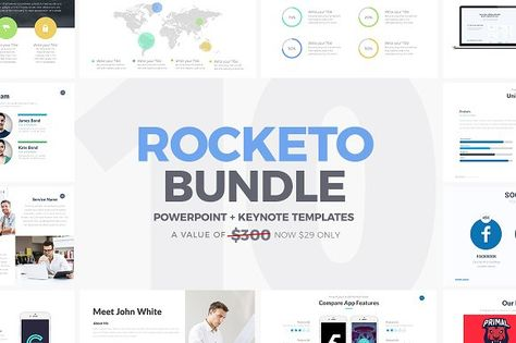 Wolf Minimal PowerPoint Template Presentation templates - keynote template