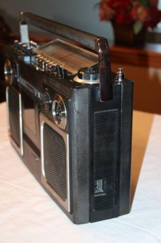 Vintage National Panasonic Rs 4300fds Rs 4300 Rs4300 Radio Boombox As Is Boombox Radio Portable Radio