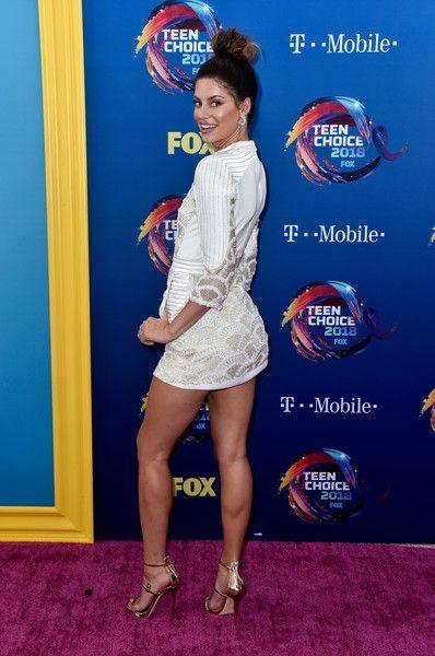 Hannah Stocking attends FOX's Teen Choice Awards.
