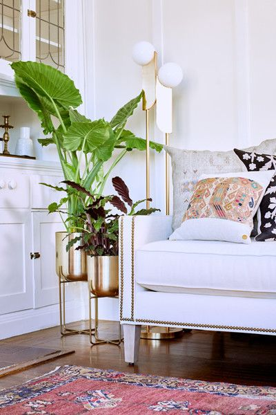 A Shining Light - We Styled A Couch In 3 VERY Different Ways - Photos