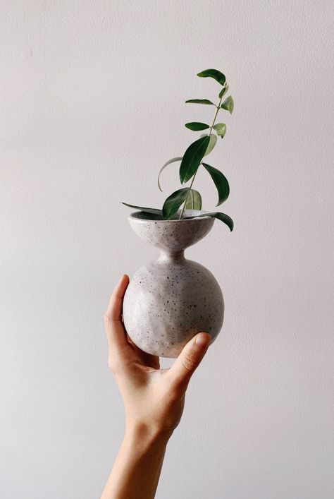 Minimalist Hand-Formed Vase