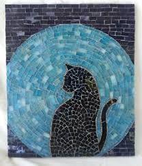Resultado de imagen para pinterest  imagenes de gatos en mosaiquismo