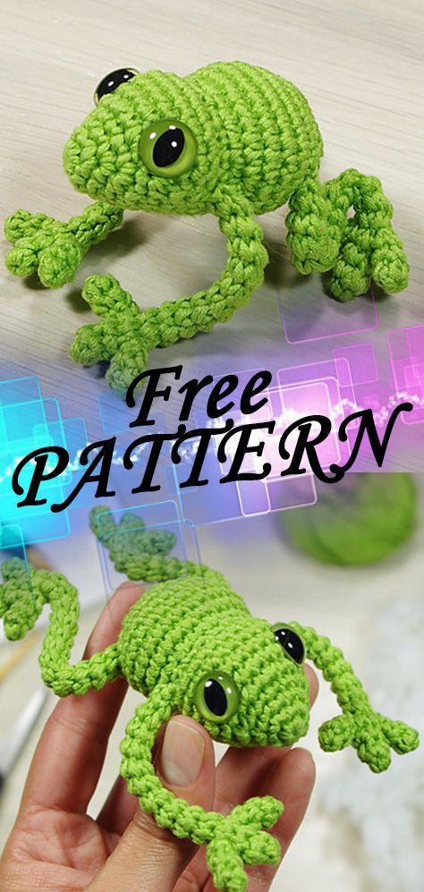 Tree Frog Free Crochet Pattern | Crochet tree, Crochet frog, Free ... | 997x474