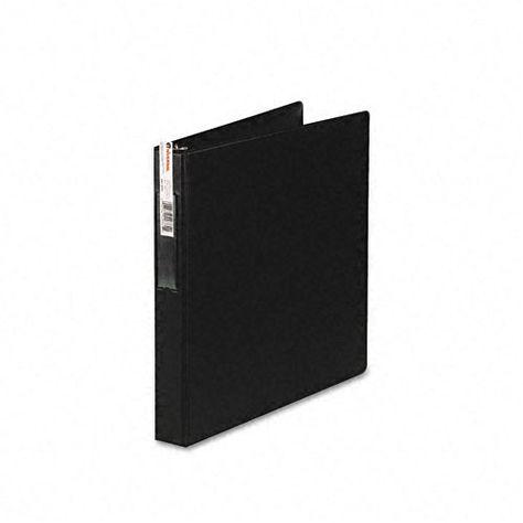 Universal 1 Black Heavy Duty D Ring Vinyl Binder Black Binding Covers Vinyl