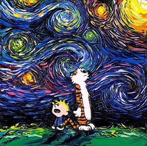 21 Pinturas No Estilo De Vincent Van Gogh Mas Com Icones Da