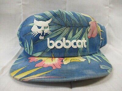 Vintage Bobcat Floral Trucker Hat Snapback Gg Hats For Men Hats Trucker Hat