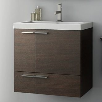 31 Inch Vanity Cabinet With Fitted Sink Contemporary Bathrooms