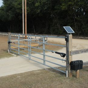 10 Watt Solar Panel Designed To Charge The 12v Battery That Powers Your Mighty Mule Gate Opener System And Serve Farm Gate Driveway Gate Diy Farm Gate Entrance
