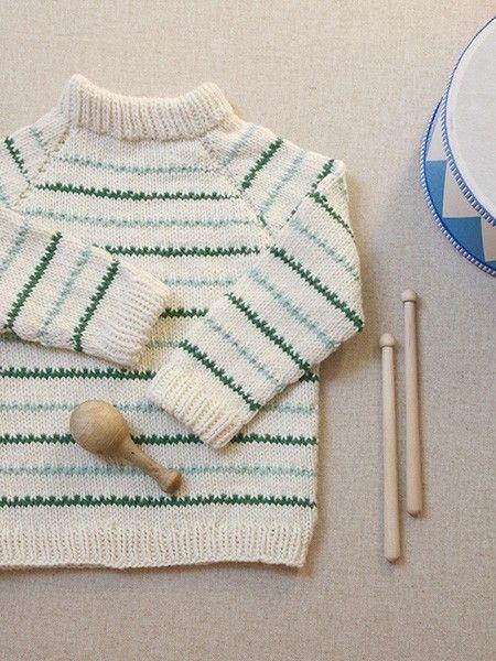 504526e7 Pickles - Flea Circus Sweater - Oppskrift/garnpakke   Knit and ...