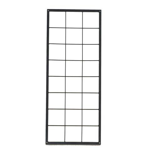 Altanbutikken gitter til vægophæng - lille 90 x 37 cm | metalgitter | pinterest