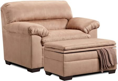 Lane Furniture 3685015095velocitylatte 1 105 46 Chair And A Half Oversized Chair And Ottoman Furniture