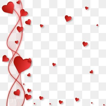 Beautiful Hearts Around Lines For Happy Valentines Day Greetings Valentines Day February Png And Vector With Transparent Background For Free Download Valentines Day Greetings Happy Valentines Day Card Happy Valentines Day