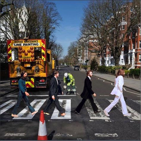 Abbey Road Under Construction Abbey Road Beatles Abbey Road Beatles Abbey