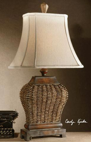 Wicker Lamp Tuscan Lamps Tuscan Lighting Tuscan Light Fixtures Tuscan Table Lamps Uttermost 27502 Augustine Tab Table Lamp Metal Table Lamps Tuscan Table