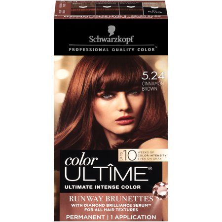 Schwarzkopf Color Ultime Permanent Hair Color Cream 5 24 Cinnamon Brown In 2020 Boxed Hair Color Hair Color Cream Hair Color