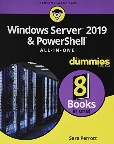 Epub Free Windows Server 2019 Powershell Allinone For Dummies Pdf