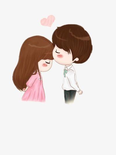 Cartoon characters,Lovers,love,sweet,Conjugal love,kiss