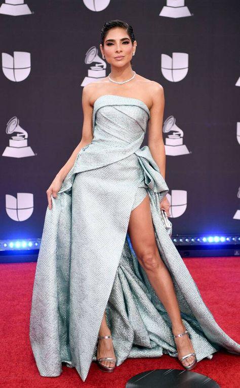 Alejandra Espinoza from Latin Grammy Awards Red Carpet Fashion
