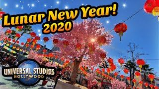 Lunar New Year Universal Studios It S That Time Of Year Again At