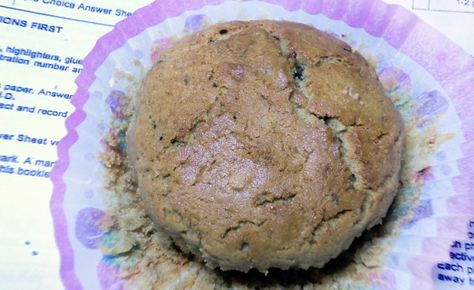 SINGLE SERVING LOW FAT PEANUT BUTTER MUFFIN