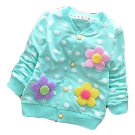 Toddler Infant Girls Spring//Fall Outdoor Dress Long Sleeve Princess Jacket Coat
