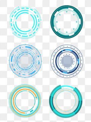 جولة الأزرق المستقبلي تكنولوجيا الحدود الحدودية إطار حوار هندسي دائري الإطار حدود التكنولوجيا مستدير Png وملف Psd للتحميل مجانا Futuristic Technology Geometric Background Geometric Box