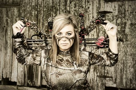 Next time I wear face paint, this will be it. I also think i need a bass ass pic with my bow like this!