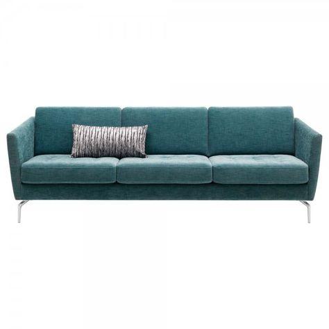 Osaka sofa in Turquoise Napoli Fabric Zen Master Living