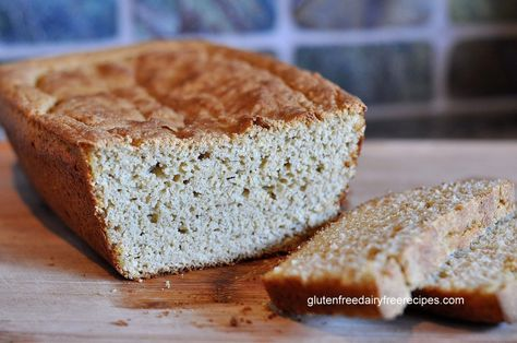 Whole Grain Gluten-Free Sandwich Bread or Buns (also dairy-free) - No Flour! No Starch!