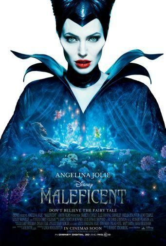 Maleficent Poster Metal Sign Wall Art 8in X 12in Disney