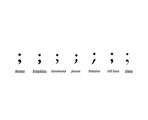 "Pythika on Twitter: ""'Garamond's semicolon is watchful ..."