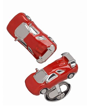 THE ONE WHO DRIVES IN THE FAST LANE - Lan Leslie Fast Car Cuff Links.
