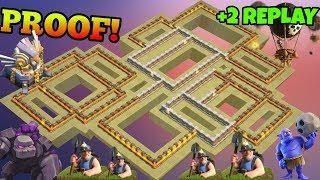 Best Th11 War Base Anti Electro Dragon 7