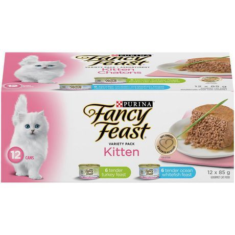 Purina Fancy Feast Kitten Wet Cat Food Variety Pack 85 G 12 Pack Cat Food Kitten Food Best Cat Food