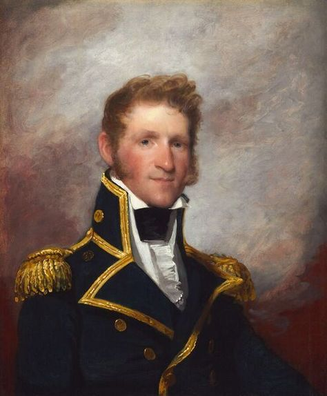 Commodore Thomas Macdonough, c. 1815/1818. Creator: Gilbert Stuart. 10 inch Photo. Commodore Thomas Macdonough, c. 1815/1818.