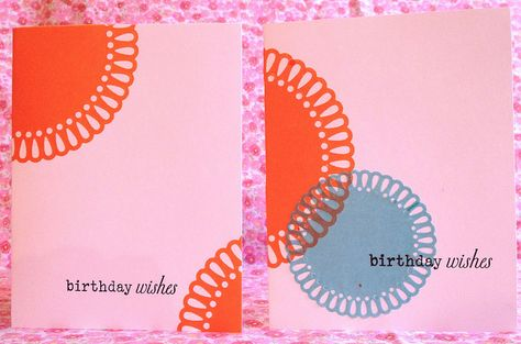 LOVE! Cute Shape 'N Tape Card with Lifestyle Crafts 2013 dies by Shopping Diva, via Flickr #birthdaywishes #card #shapentape